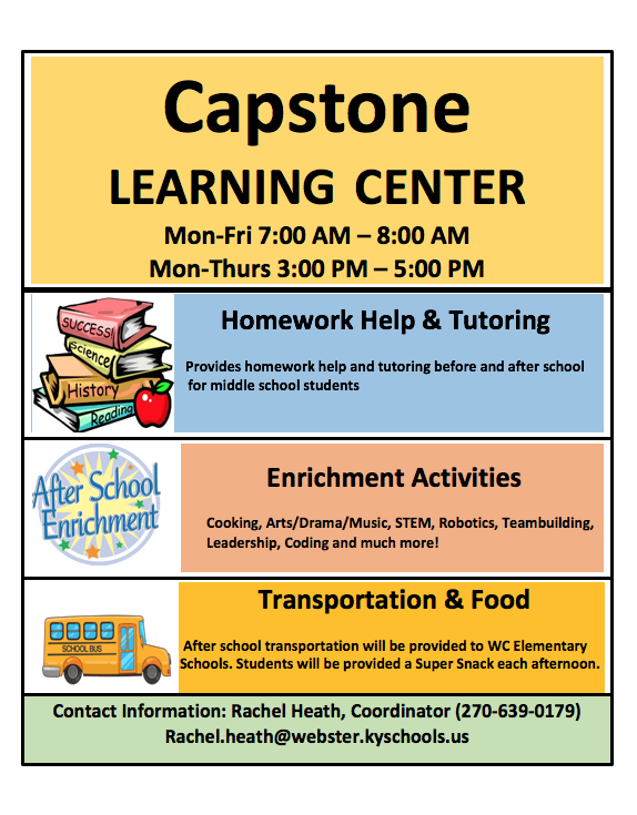 Capstone Learning Center Webster County High School
