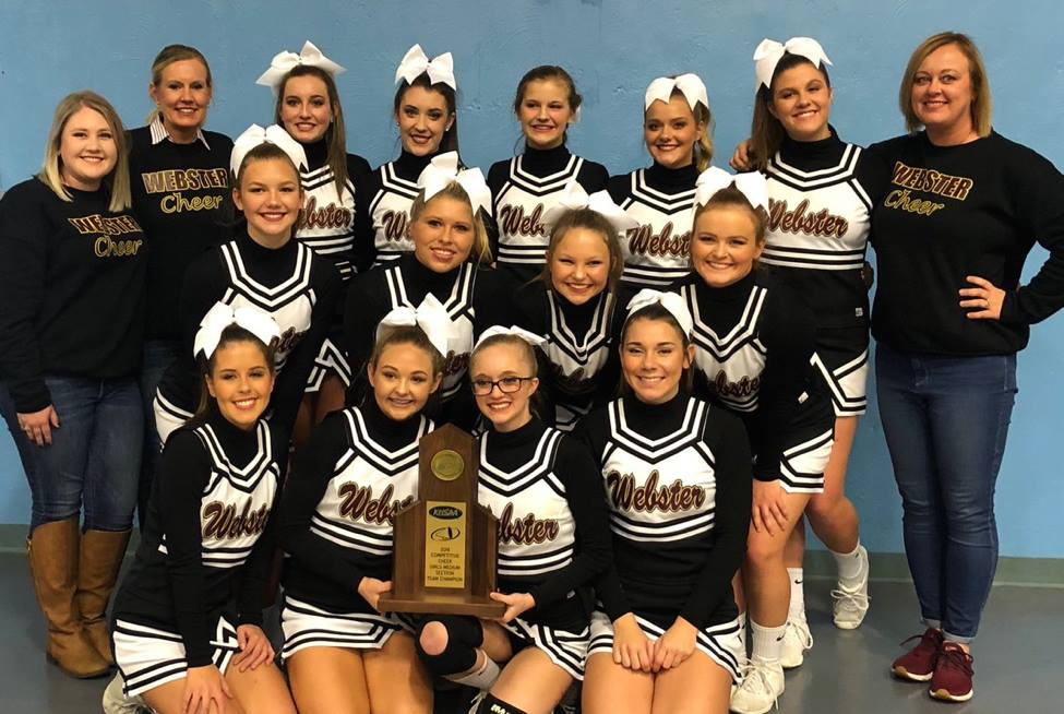 Cheerleaders Sec. Champs 2018