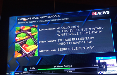Sebree--Healthy School Bronze Status