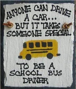 Special bus driver