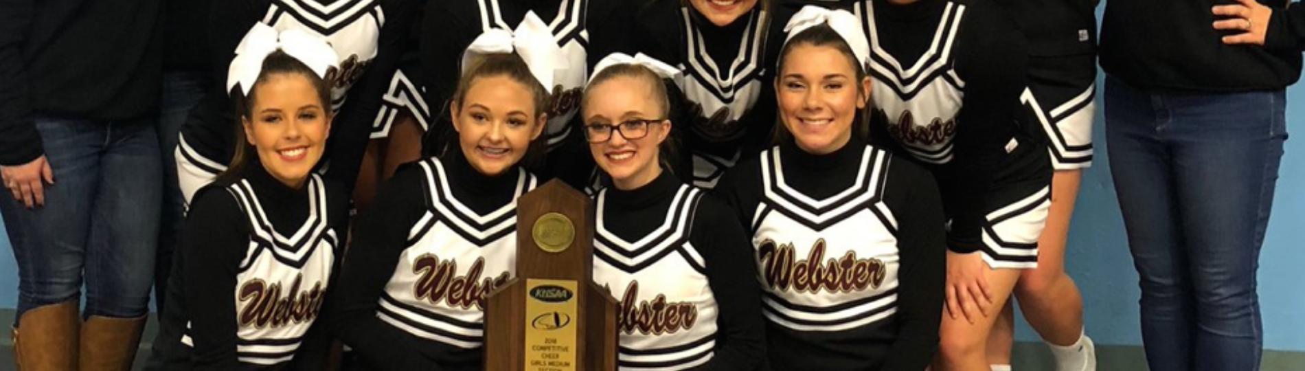 Cheerleaders KHSAA Section Champs